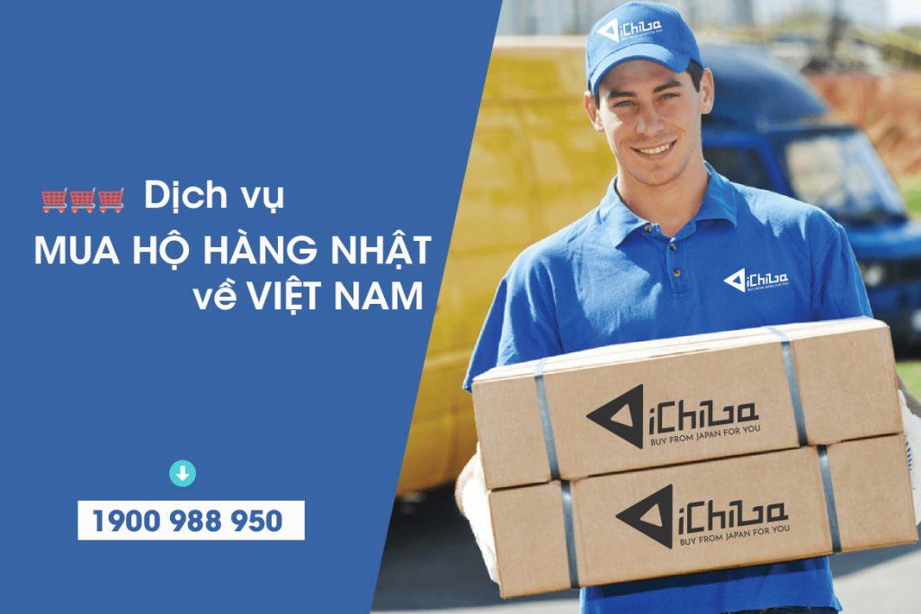 Dịch vụ mua hộ hàng Nhật về Việt Nam