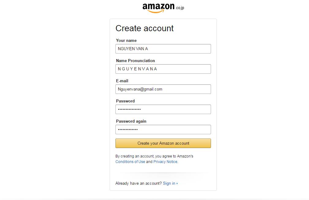 Hướng dẫn mua hàng Amazon Nhật