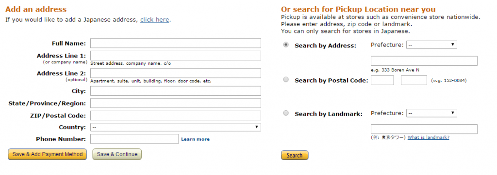 Đăng ký tài khoản thành viên trên Amazon