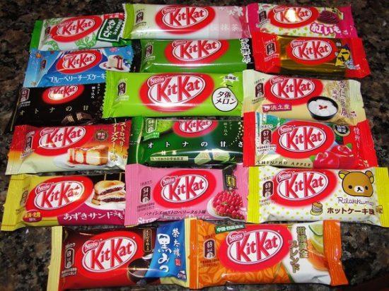Mua bánh KitKat Nhật Bản