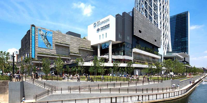 Trung tâm mua sắm Tokyo soramachi