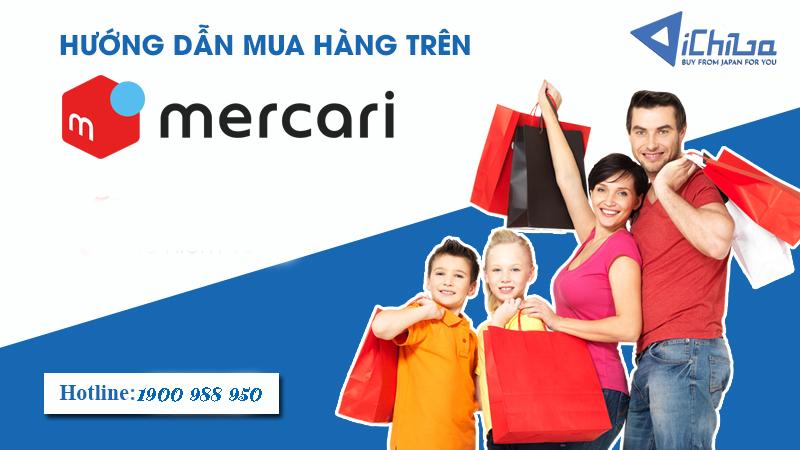 Hướng dẫn mua hàng Mercari